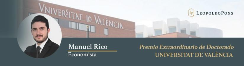Imagen destacada Nuestro economista Manuel Rico Llopis, Premio Extraordinario de Doctorado