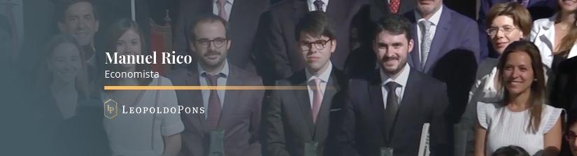 Imagen destacada Nuestro Economista, Manuel Rico Llopis, fue premiado en la edición del Premio 'Estudios Financieros' 2018